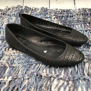 Vince Camuto Black Leresa Casual Flat Size 9.5